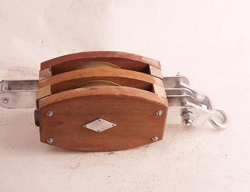 Wire rope blocks & wood cargo blocks,
