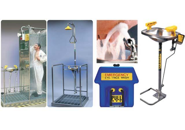 Eye Wash Stations & Showers