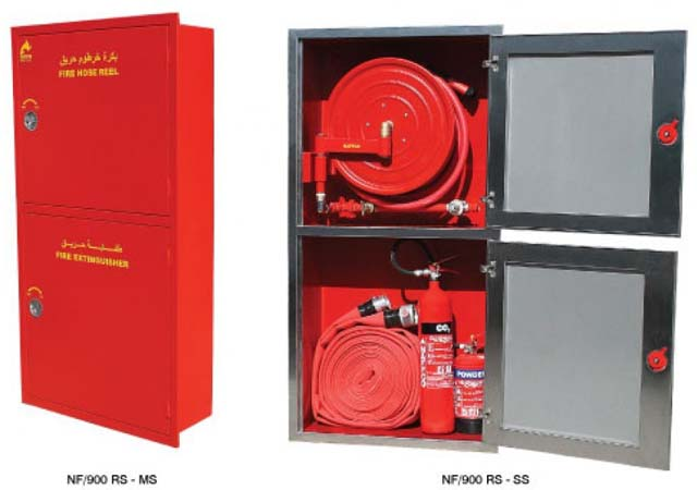 Fire Hose, Fittings, Cabinets