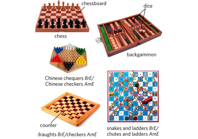 Indoor Board Games.