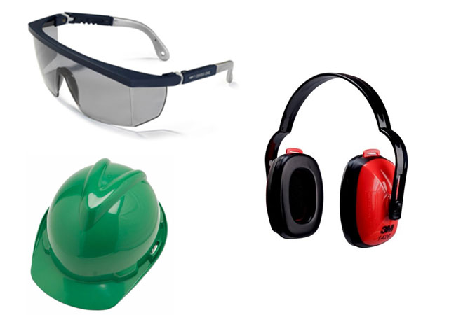 Safety Spectacles, Helmets , EAR Muffs